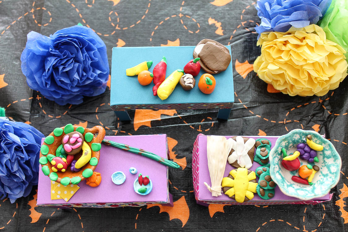 Easy and Budget Friendly Dia De Los Muertos Activity