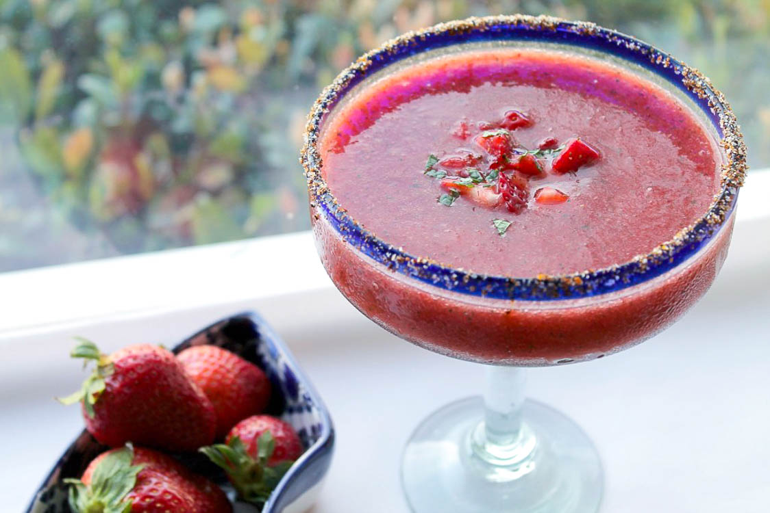 Strawberry Watermelon Margaritas