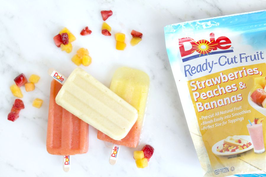 Frozen Fruit Paletas